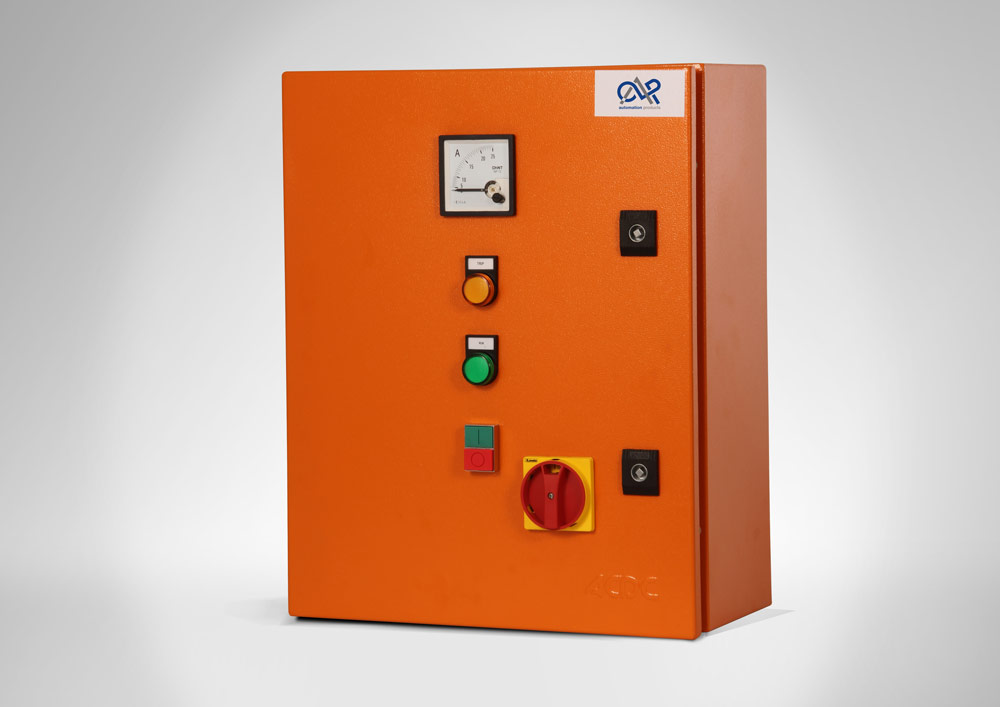 DOL Starter 5,5kw Steel Enclosure, Ammeter, Isolator